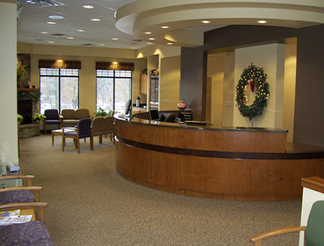 Haack Orthodontics Reception and Waiting Area